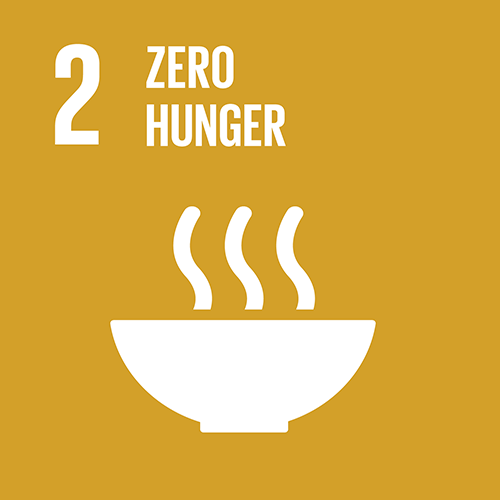 2. End hunger, achieve food security and improved nutrition and promote sustainable agriculture